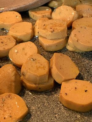 Proweightless Mini-Wiener, Zubereitung angebraten