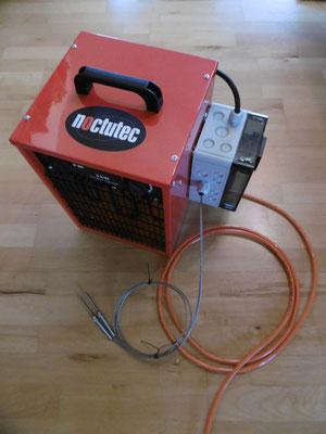 Sonderanfertigung Elektroheizung mit elektronischer Steuerung