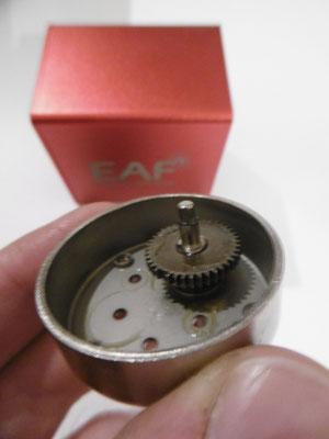 Ursachenforschung. Ausgebrochener Zahn an einem Zahnrad eines ZWO EAF Motorfokus