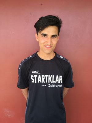 Ebrar Mamozai schaffte es in die Deutsche Cricket Akademie.
