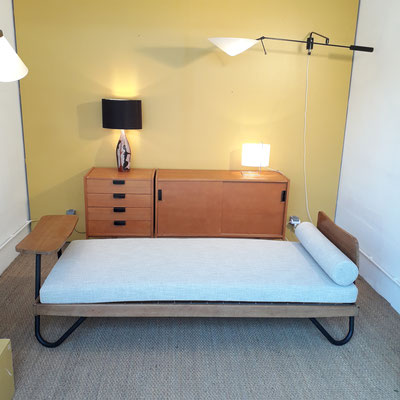 R. Charroy, daybed pour Mobilor, c. 1955