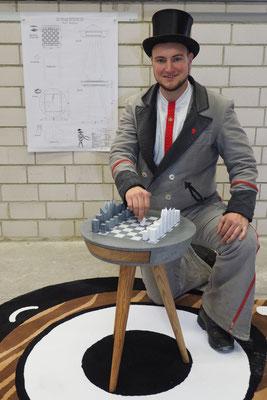 Ralf Keßler, Landau, erhielt eine Belobigung;  Foto: FBB