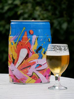 Brasserie MIRA 2020, packaging fûts de bière.