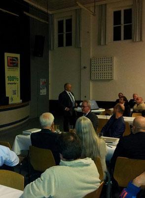 Landtagsabgeordneter und Ex-Bürgermeister aus Oberfranken berichtet über seine Windkraftprojekte