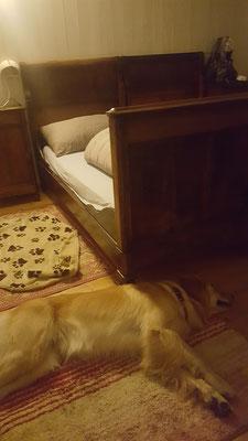 im rustikalen Albergo übernachten wir bei angenehmen 18 Grad