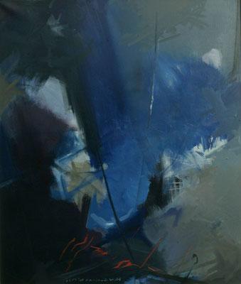 Ohne Titel, 1997, Öl auf Leinwand, 140 x 120
