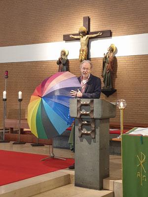 Pastor Mork für die ACK