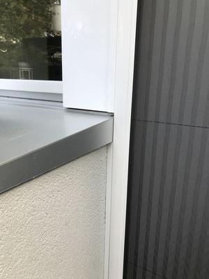 Detail Fensterbankanschlüsse