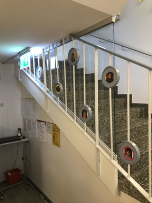 Windschutzglas Schulhaus Konstanz
