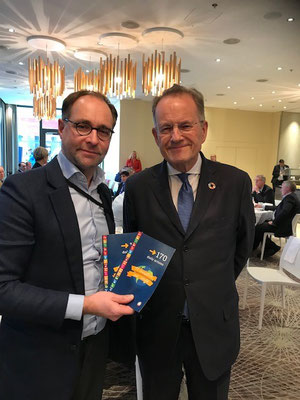 Markus Bürger, Secretary General Austrian Council for Sustainable Development and Michael Moller, Director-General United Nations