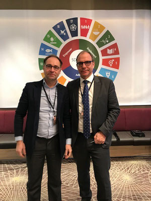 Markus Bürger and Christoph Müller, Delegates Austrian Council for Sustainable Development at SDG LAB Davos 2019