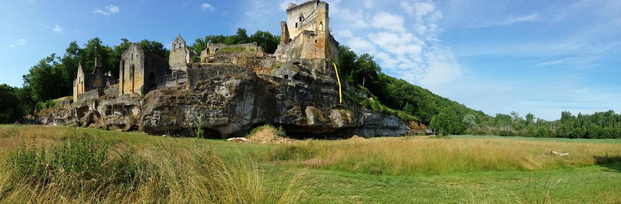 Chateau de Commarque reportage photographique Hervé Arnoul