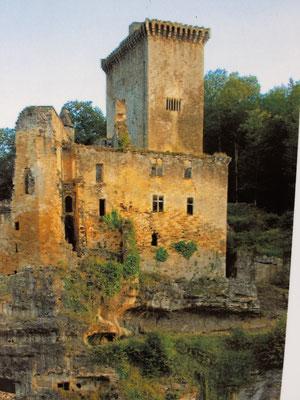 Chateau de Commarque reportage photographique