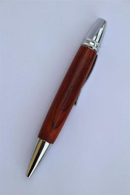 Holz: Cocobolo / Drehkugelschreiber  / Länge 122mm / Großraummiene