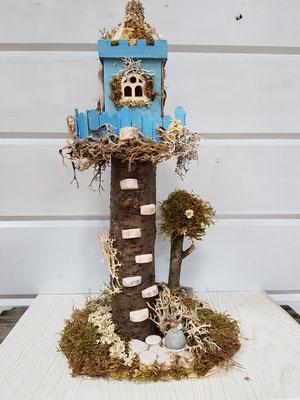 Feen Elfen Schloss Höhe ca. 40 cm Preis € 45,-