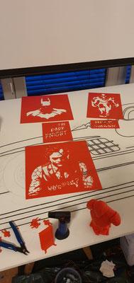 Künstler Martin Lingens, Entstehung von 3D-Druck unterstützter Kunst