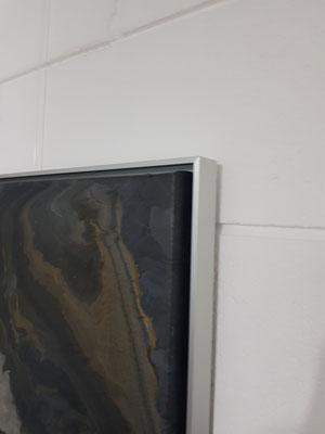 """Künstler Martin Lingens, Entstehung """"Molton Rock"""""""