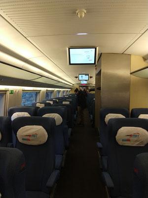 Sapsan Inter City Express zwischen Sankt Petersburg und Moskau