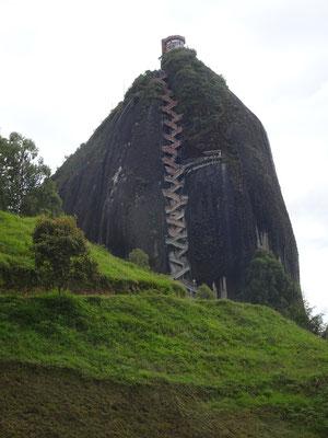 """Treppenaufstieg auf den """"El Penon"""""""