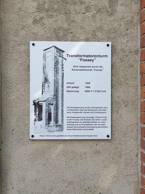Restauriertes Transformatoren Häuschen