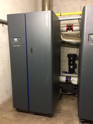 Chaudière à condensation 450 kW