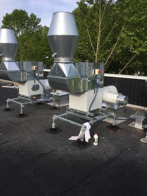 Extracteur toiture