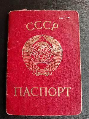 UdSSR Pass