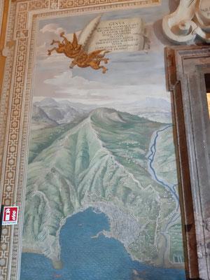 In der Galerie der Landkarten