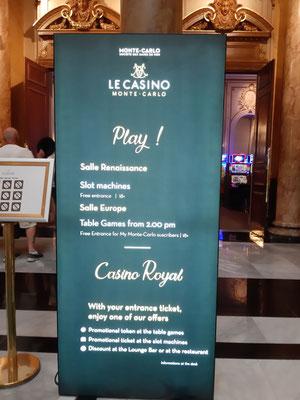 Hier geht es rein ins Spielcasino Monte Carlo