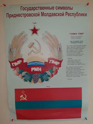 Die Staatssymbole Pridnestrowiens