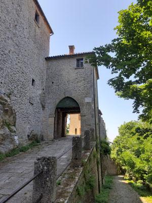 Stadttor am Monte Titano