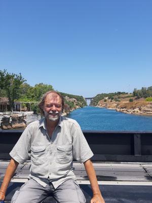 Am Kanal von Korinth