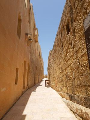 In der Zitadelle, Gozo