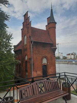 Altes Hydaulikhaus an der hohen Brücke, Kaliningrad