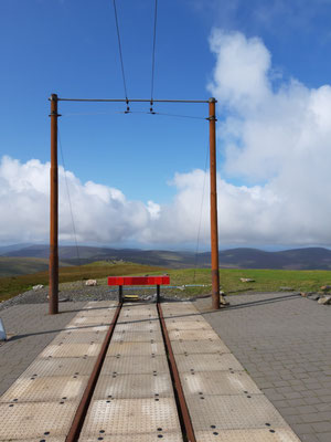 Endstation am Snaefell Mountain