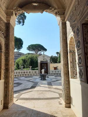 Lustpavillon im Vatikan