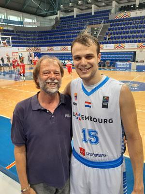 mit Oliver Vujakovic aus Luxemburg