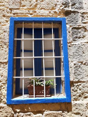 Fenster in der Zitadelle, Gozo
