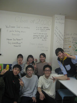 Congratulations to class of 2020! 卒業おめでとう!