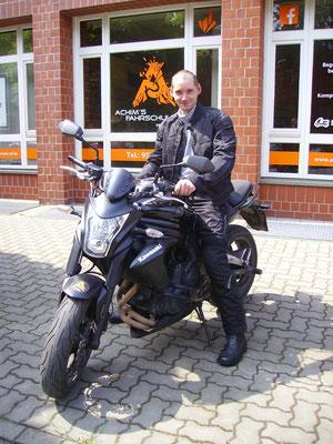 Sebastian Brückner hat seinen A2 Führerschein seit dem 20.05.2019!