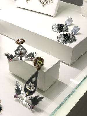 Nazanin Ebadi jewelries by mirror and Swarovski crystals