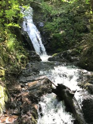 Cascade de Gimel .