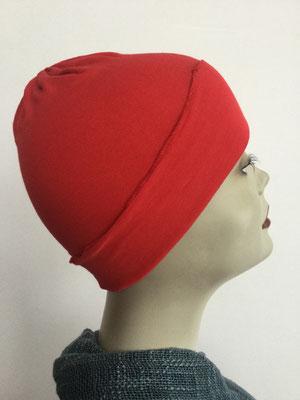 G26 - Kopfbedeckungen kaufen - Baumwollchäppli fest - kräftiges Rot