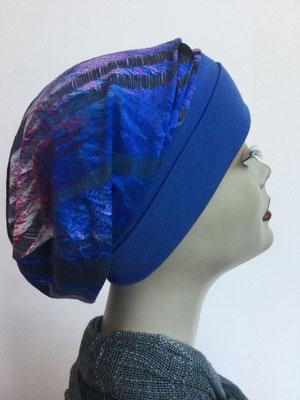 So 69m - Chemochäppli kaufen - Beanie  Schlumpfmütze einfach - blauviolett
