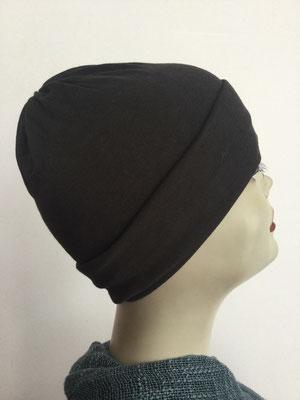 G29e - Kopfbedeckungen kaufen - Baumwollchäppli fest - schwarz
