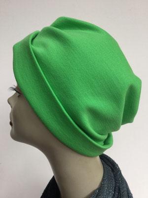 """Wi 39g - Turban """"Nizza"""" ohne Schlaufe- giftgrün - Kopfbedeckung kaufen"""