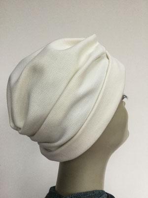 """Wi 36 - Turban """"Nizza"""" ohne Schlaufe- weiss - Kopfbedeckung kaufen"""