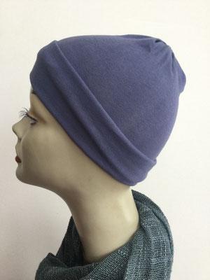 G21 - Kopfbedeckungen kaufen - Baumwollchäppli fest - jeansblau