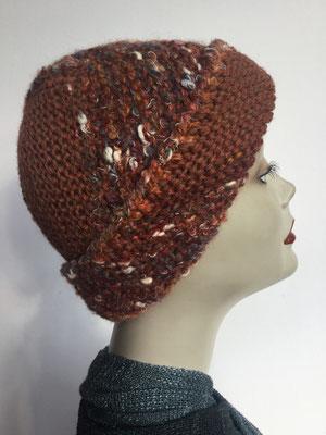 Wi 100 - High-Tech Supermodell  gestrickt - Siena - Kopfbedeckung nach Chemo
