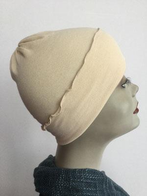 G29 - Kopfbedeckungen kaufen - Baumwollchäppli fest - helles Neapelgelb